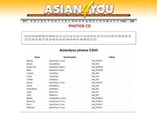A4U Asian4You CD 43b - Asian4you A4U Asian Babes Database Nude Thailand Naked Girls Asian Hardcore Porn CD43